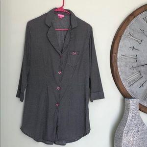 Betsey Johnson sleep nightgown shirt